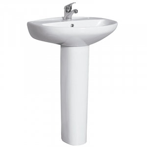 KIT IDEAL  LAVABO 55 + PEDESTAL
