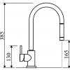 Monomando  Extraíble  LINE MN 1011