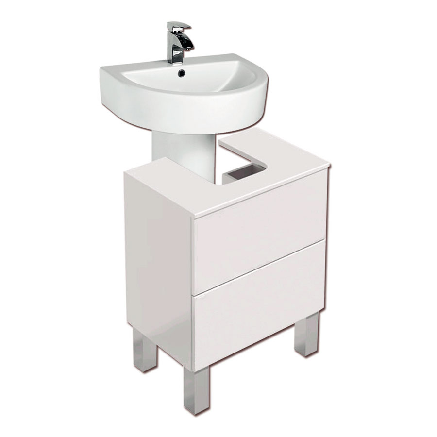 Mueble bajo lavabo acacia tegler for Mueble bajo lavabo carrefour