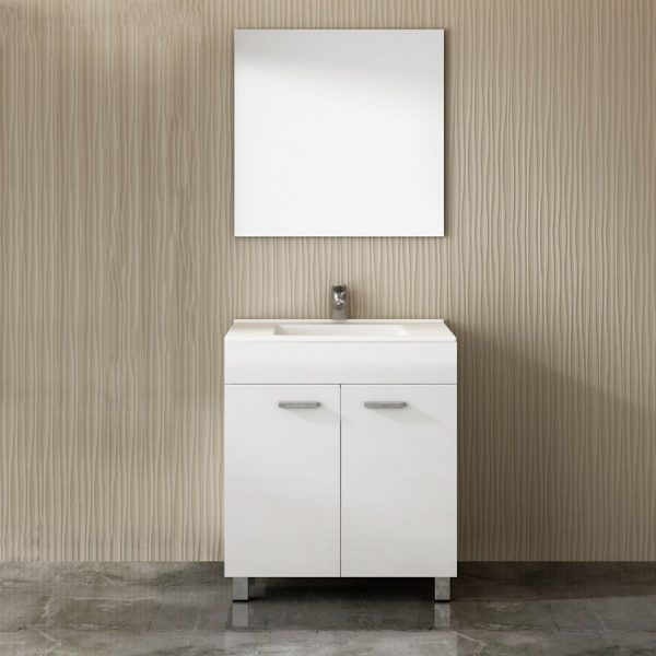 Mueble de baño Eco 3 piezas-Tegler