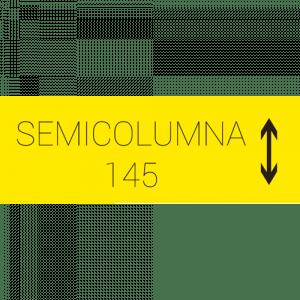 Semicolumna 145 cm.