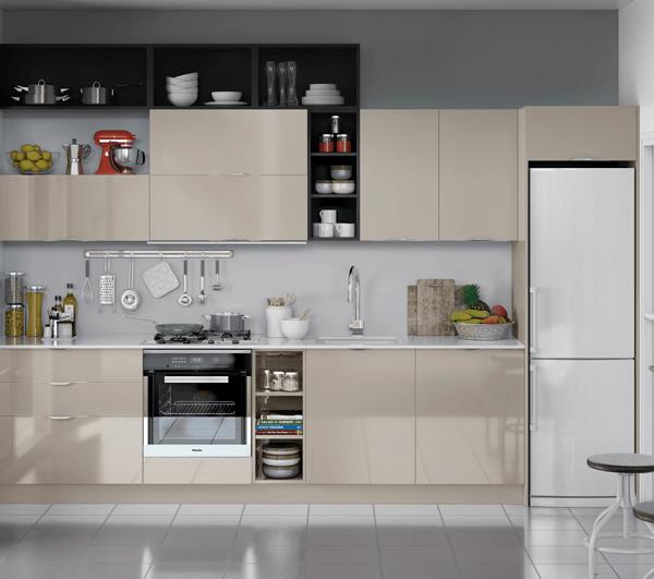 Mueble bajo DECORATIVO fondo especial de 35 cm-cocina